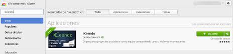 iKeendo en Chrome